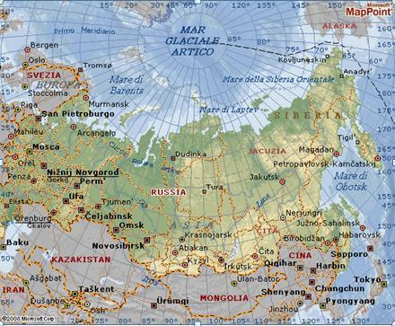 Cartina Siberia Russia.Come Dire A Una Ragazza Che E Bella Cartina Russia